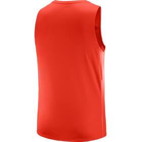 Salomon M's Agile Tank fiery red